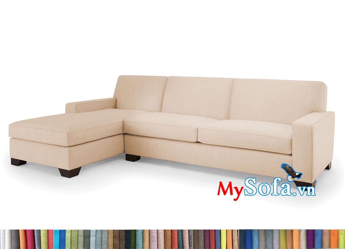 Ghế sofa màu kem