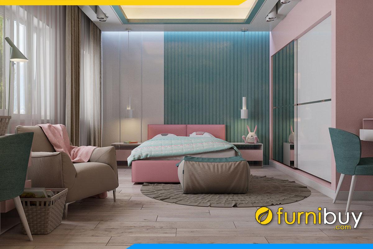 sofa văng cho phòng ngủ nữ giới
