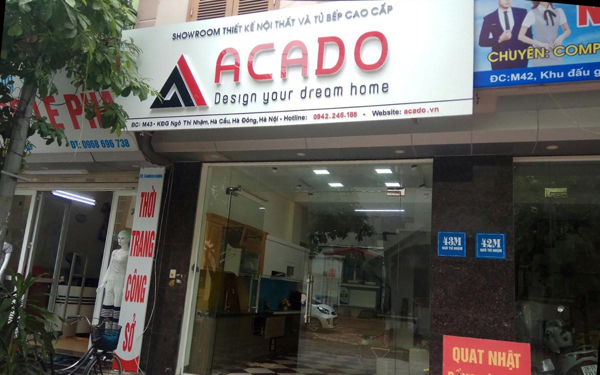 Cửa hàng nội thất bán sofa cao cấp tại Hà Đông