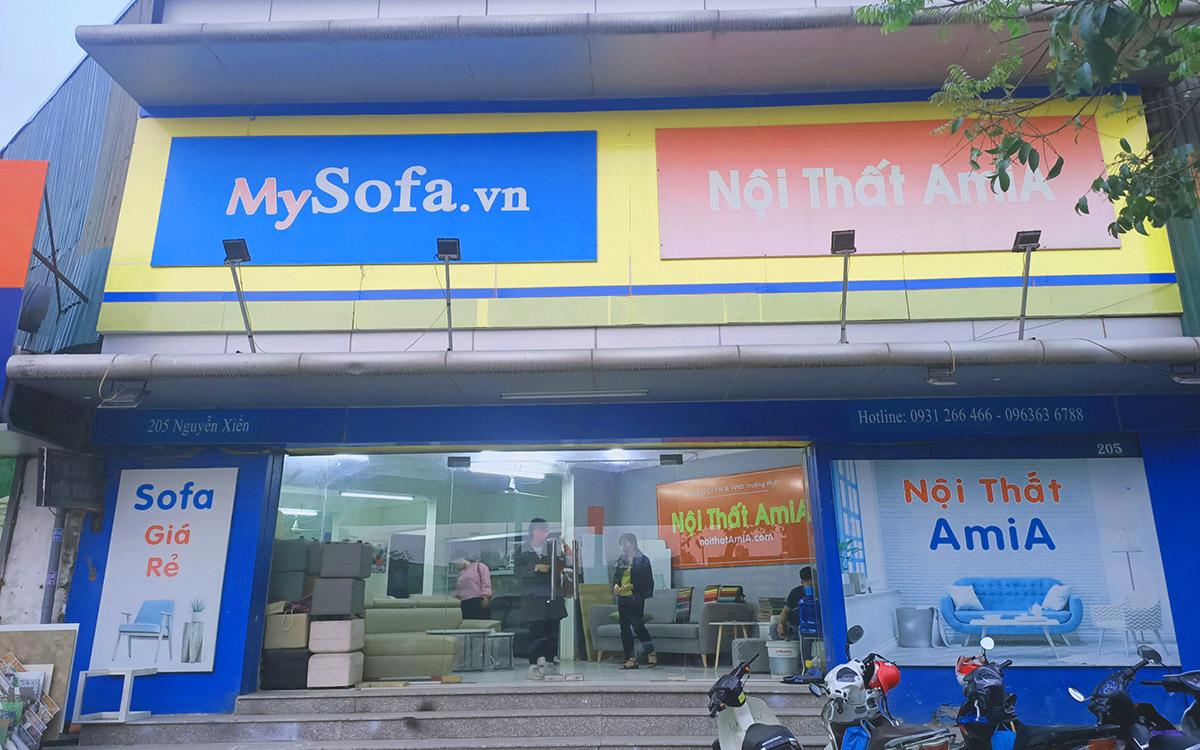 Cửa hàng nội thất AmiA- trưng bày nhiều mẫu sofa đẹp là địa chỉ mua sofa góc lí tưởng cho bạn