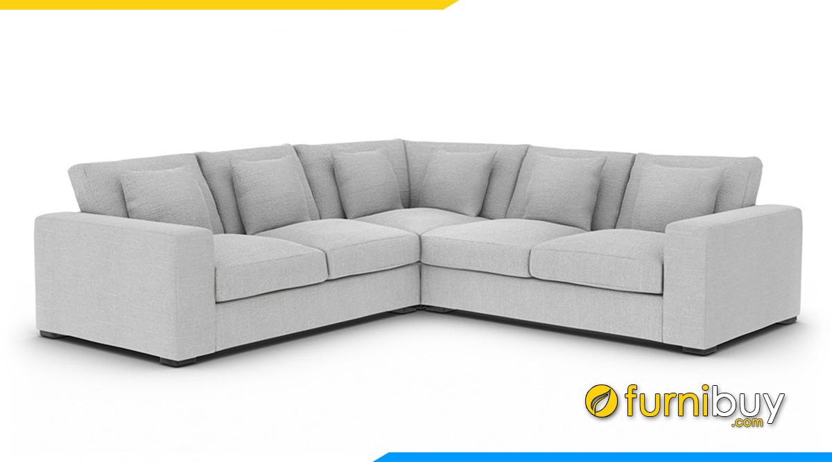 Kích thước sofa chữ V phổ thông
