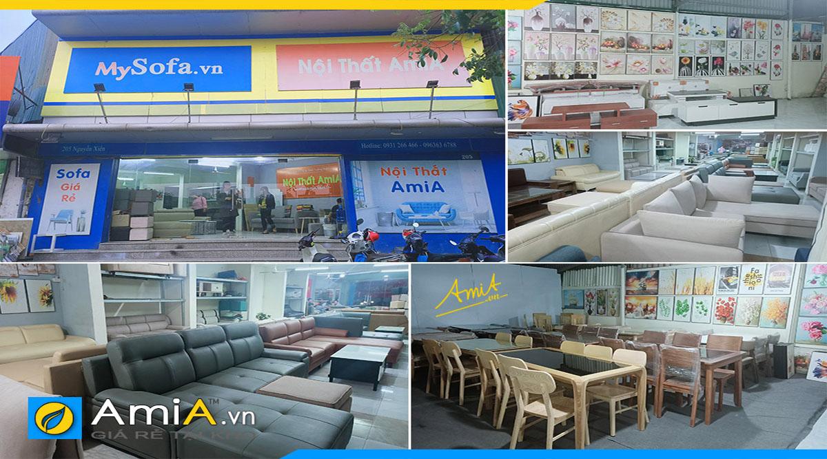 Cửa hàng bán nhiều loại nội thất đẹp giá rẻ tại Hà Nội